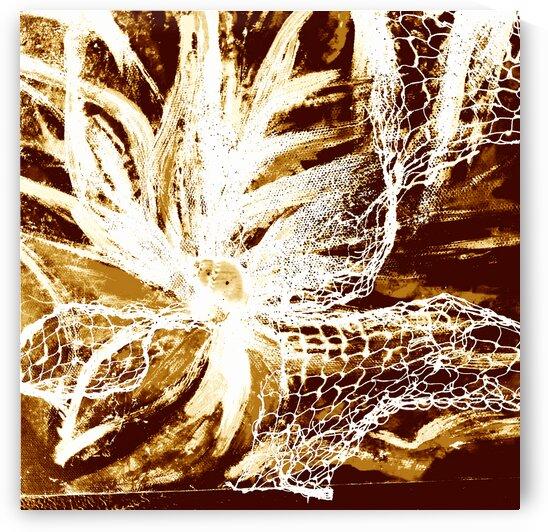 fleur etincelle sepia by melissoise