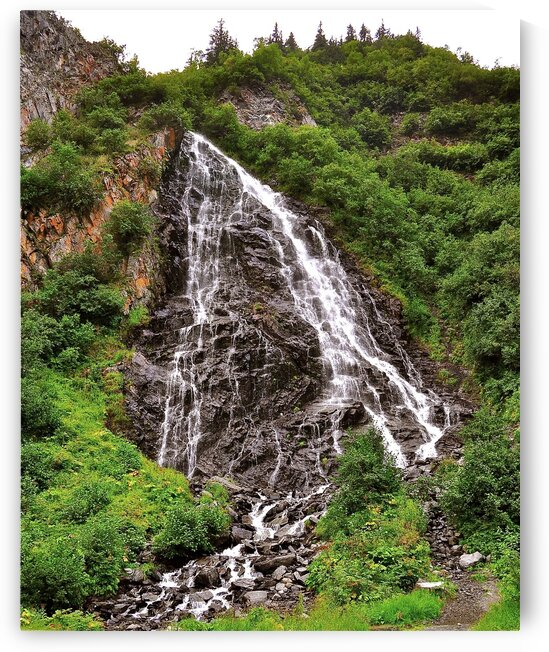 Mountain Falls by Limone Photography
