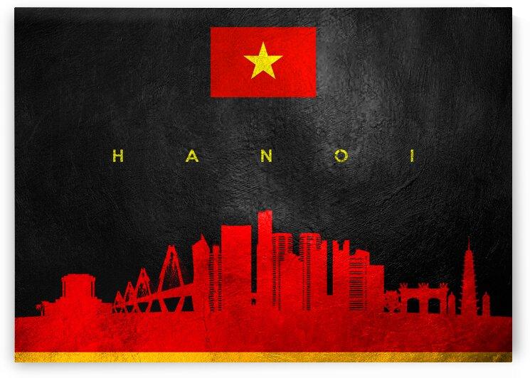 Hanoi Vietnam Skyline Wall Art by ABConcepts