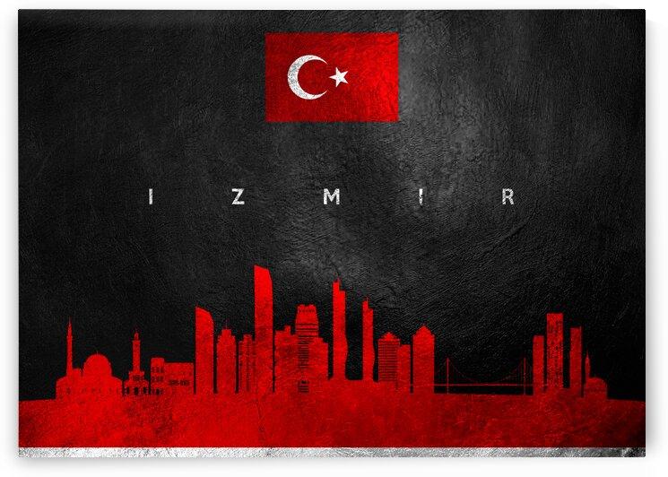 Izmir Turkey Skyline Wall Art by ABConcepts