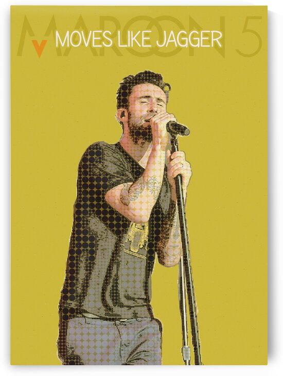 Moves Like Jagger   Adam Levine   Christina Aguilera   maroon 5 by Gunawan Rb