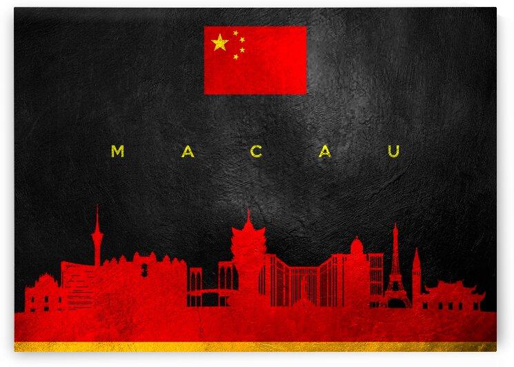 Macau China Skyline Wall Art by ABConcepts