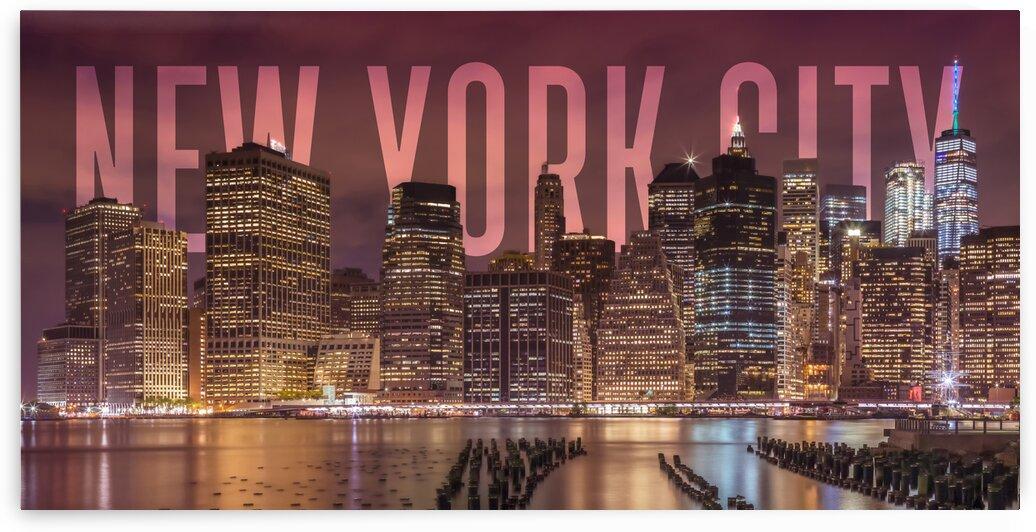 NEW YORK CITY Skyline | Panorama by Melanie Viola