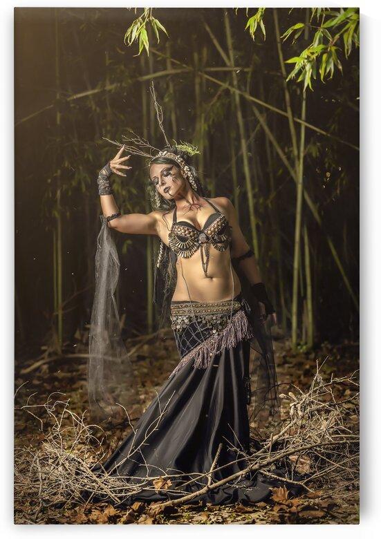 Gina Kaos - Druidess - Poster by Jay Lamm