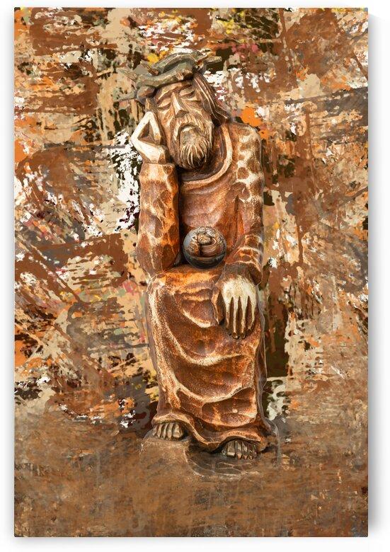 Pensive Christ by PitoFotos