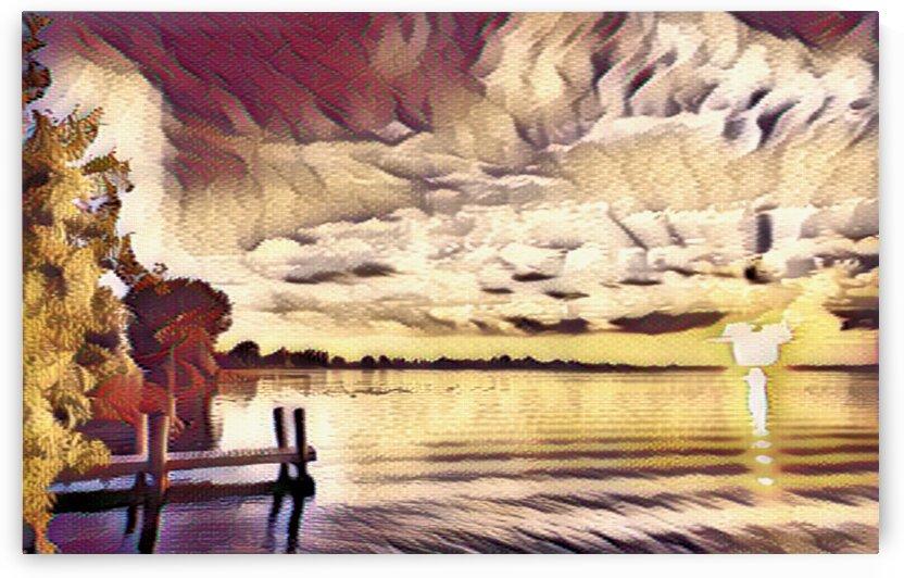 Sunrise  over Lake Erie by Flodor