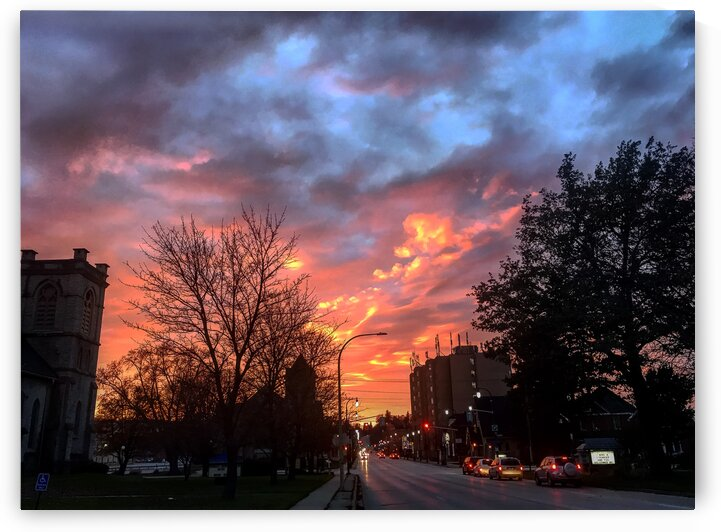 afterglow on 10th St by Amber Vee Photography