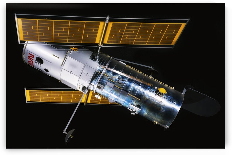 NASA Hubble Space Telescope Side - Outer Space Image by Bill Swartwout Photography