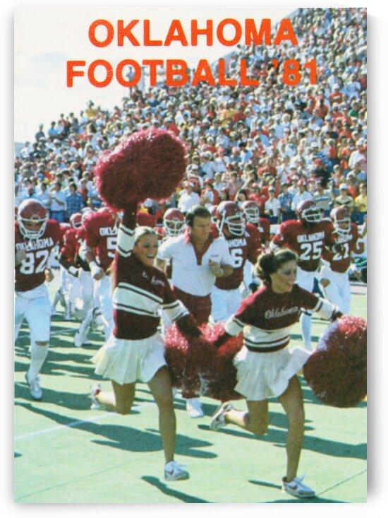 1981 Oklahoma Football by Row One Brand