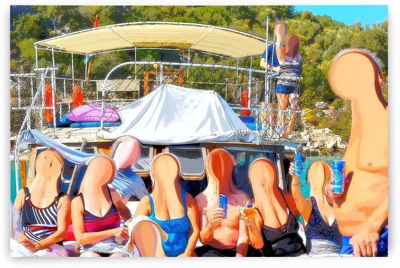 Partir en Vacanes - Taking a Vacation by Carole Ledoux Creations Cl