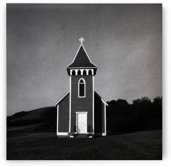Lumsden Church  by Michael Squier