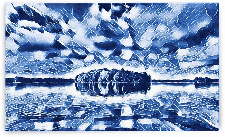 Blue Island by Flodor