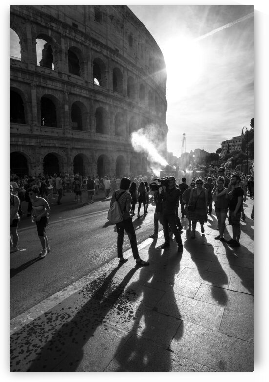 Rome - Black And White Street photo by Stefano Senise Photography