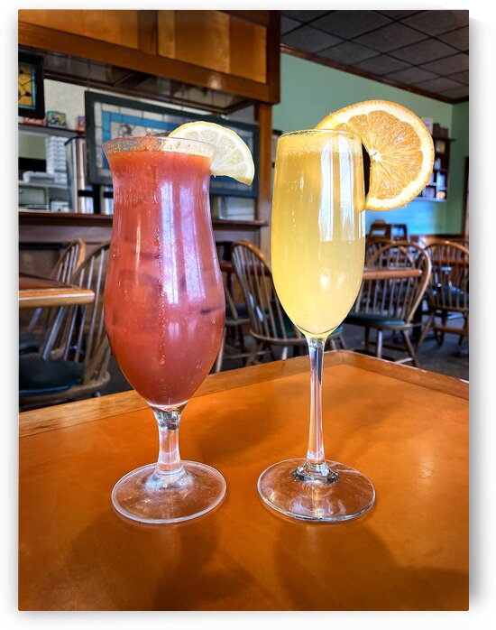 breakfast of champions mimosa bloody mary by Bill Swartwout Photography