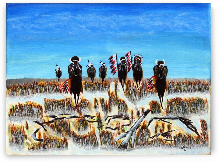 Prairie Warriors by Susan Rook Lundell