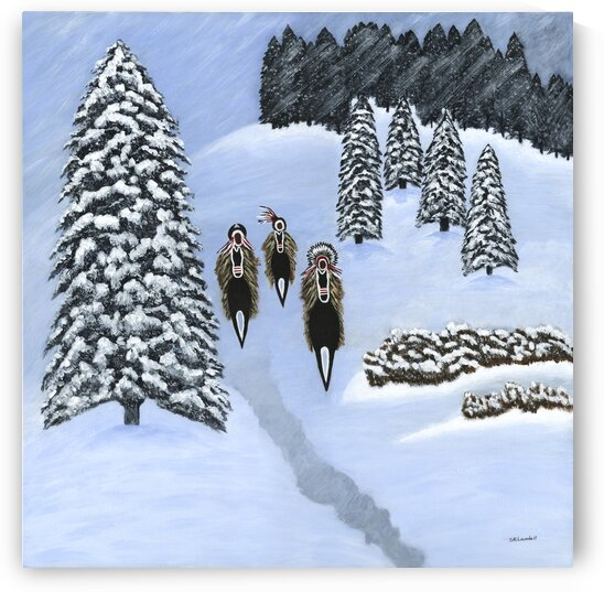 Winter Scouts by Susan Rook Lundell