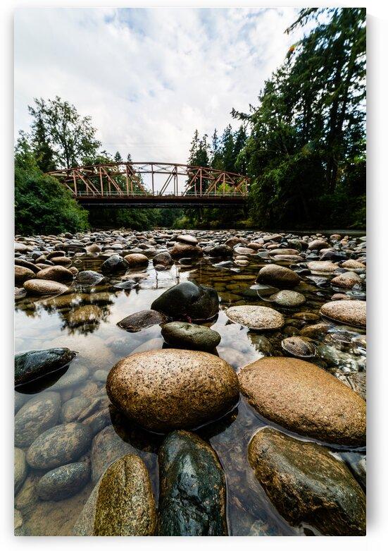 The Orange Bridge 2 by Michael Squier
