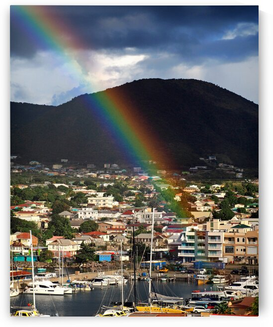 st kitts rainbow vertical 1190213 by Bill Swartwout Photography