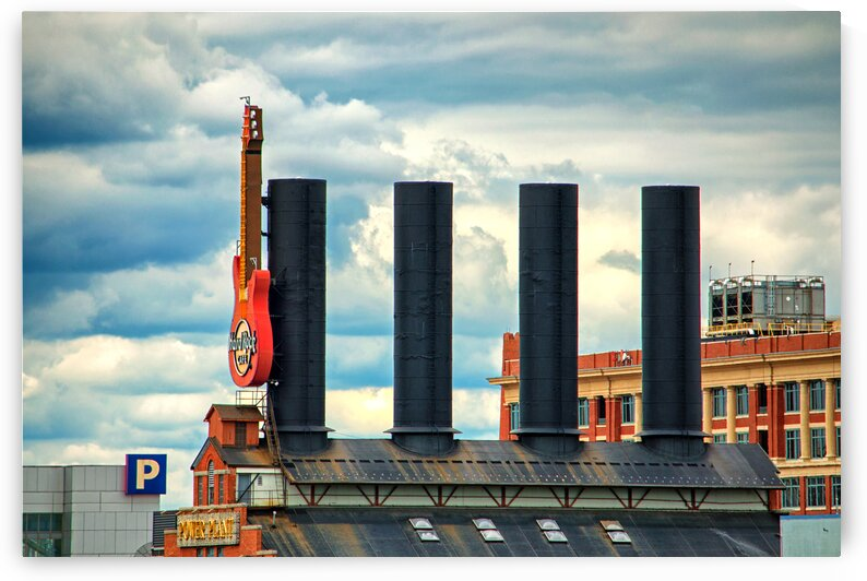 baltimore power plant guitar stacks 0102 by Bill Swartwout Photography