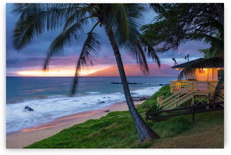 Kamaole Beach 3 Sunset Maui by Pierre Leclerc Photography