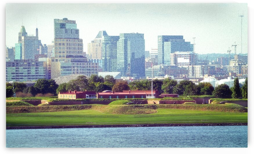 fort mchenry baltimore background 9210092 by Bill Swartwout Photography
