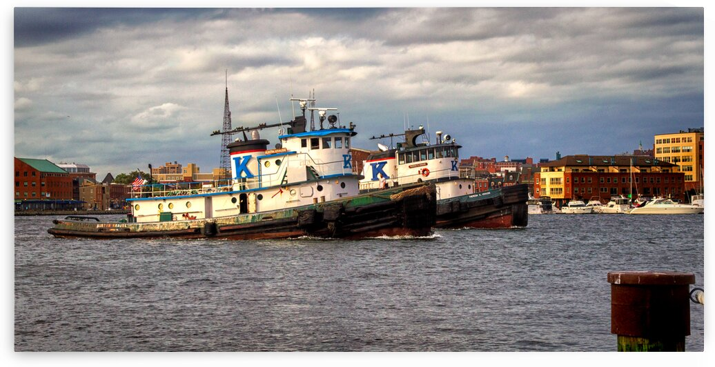 baltimore tugboat twins fr hull st 9331 by Bill Swartwout Photography