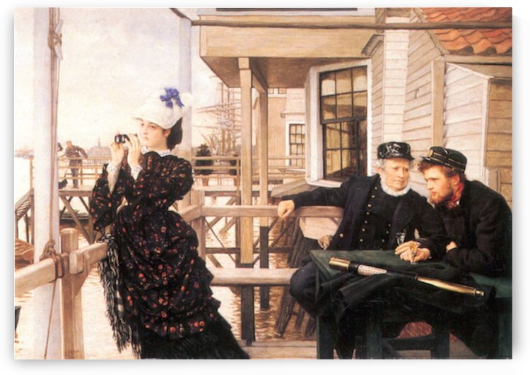 The daughter of the master by Tissot by Tissot