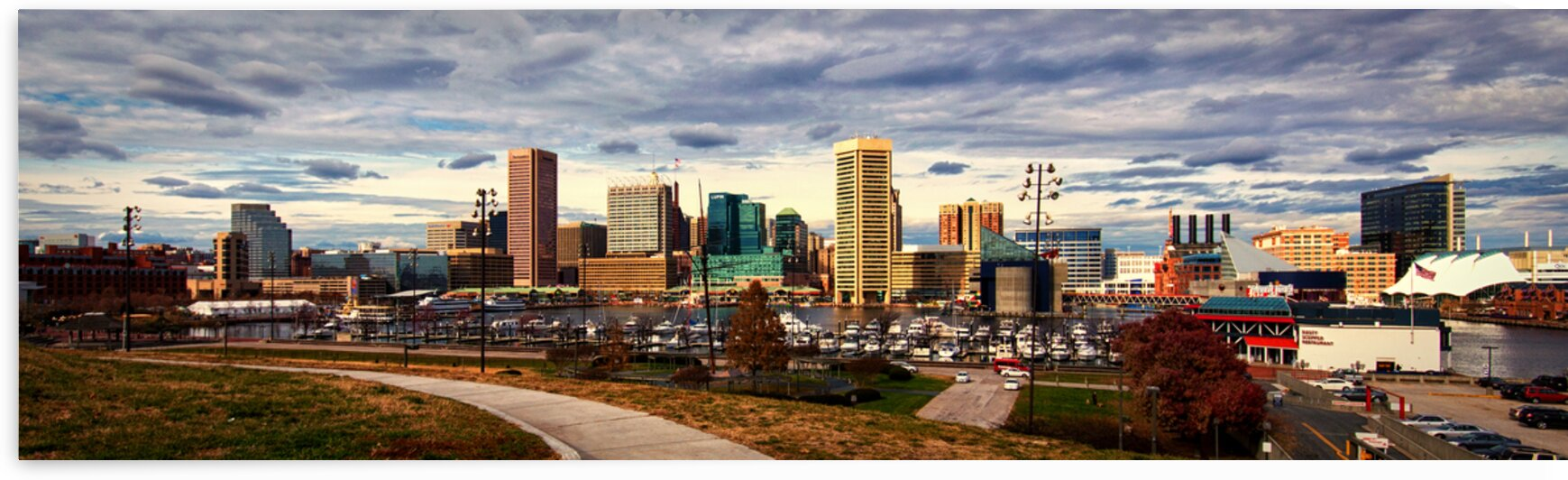 baltimore inner harbor panorama 0217 by Bill Swartwout Photography