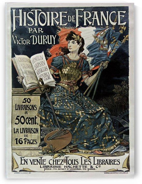 Histoire de France by VINTAGE POSTER
