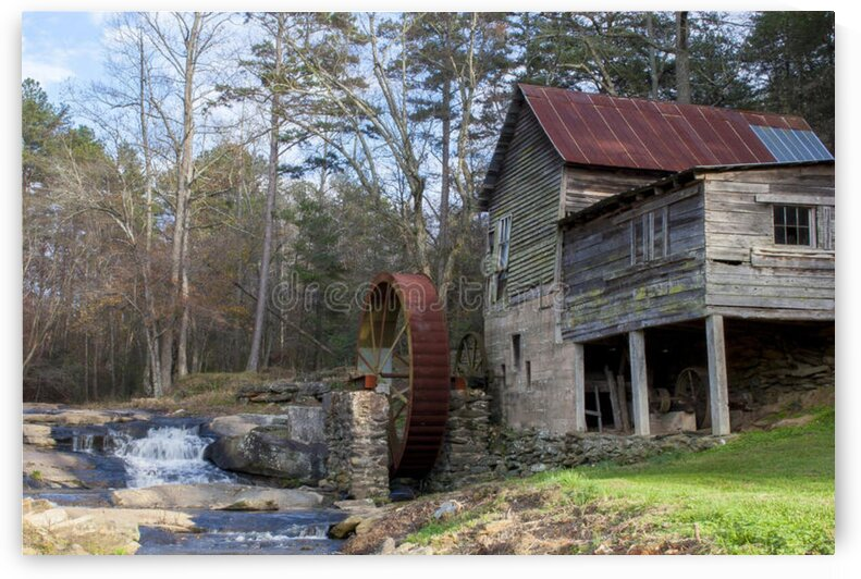 old mill house by RAMPAGE