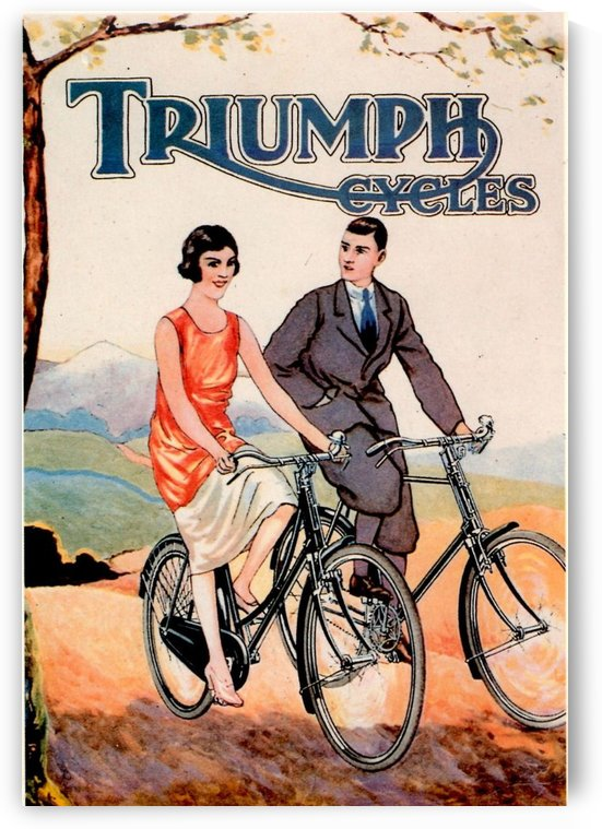 Triumph Cycles by VINTAGE POSTER