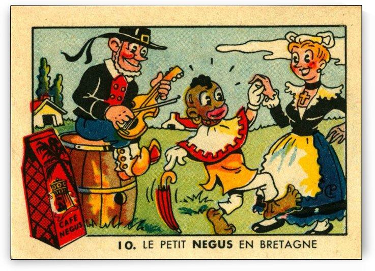 Le Petit Negus by VINTAGE POSTER