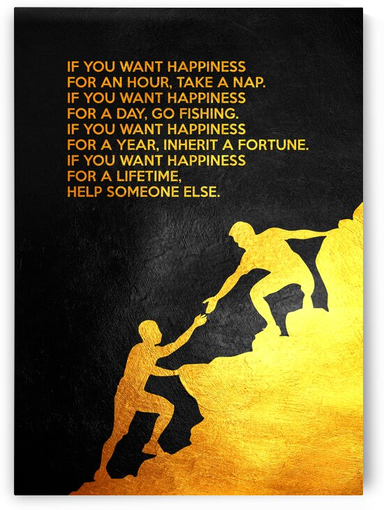 Chinese Proverb Motivational Wall Art by ABConcepts