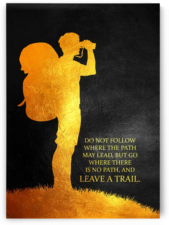 Leave a Trail Motivational Wall Art by ABConcepts