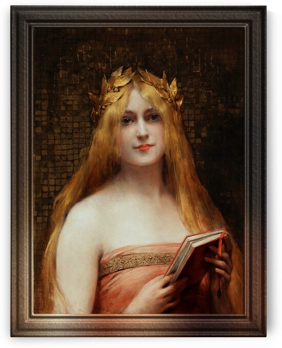 A Classic Beauty by Leon Comerre Classical Fine Art Old Masters Reproduction by xzendor7