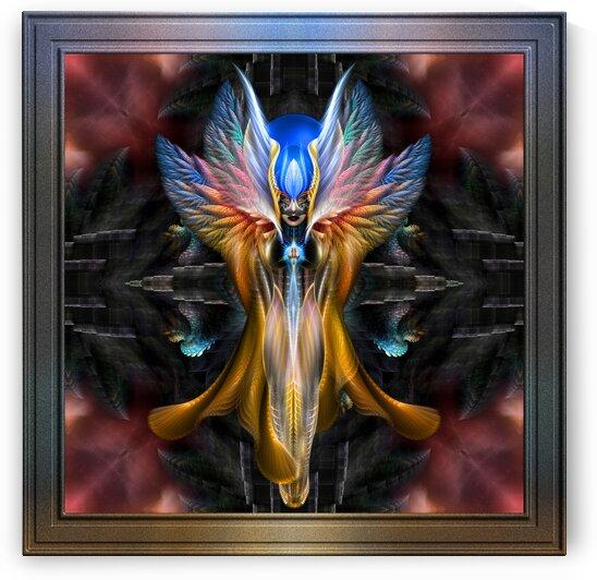 Arsencia The Golden Setren Fractal Art by xzendor7