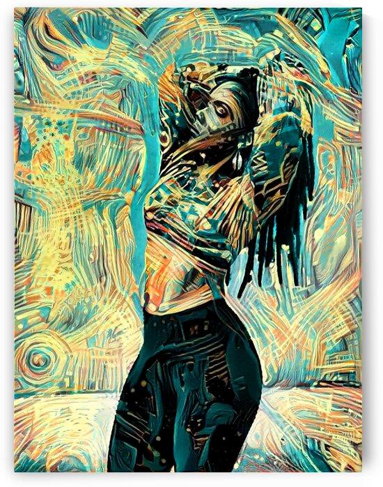 Black Queen Dreadlock by Million Dollar Art