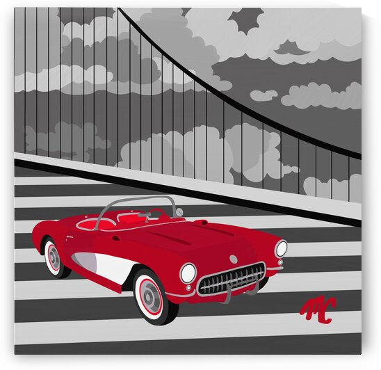 Chevy Corvette by Mike Coble