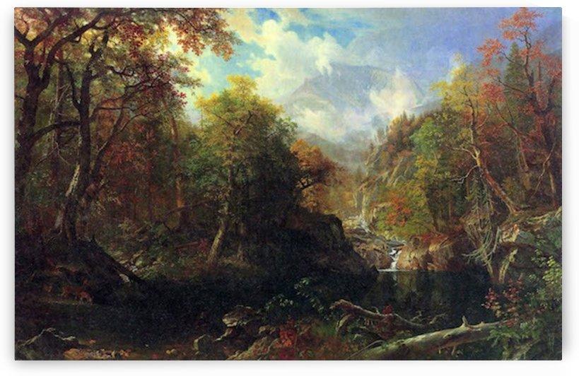 The Emerald pond by Bierstadt by Bierstadt