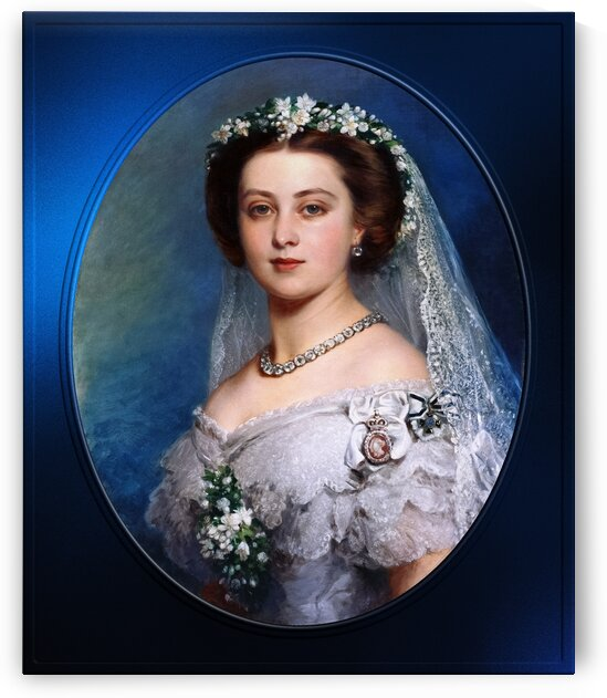 Victoria Princess Royal by Frank Reynolds Classical Fine Art Old Masters Reproduction by xzendor7