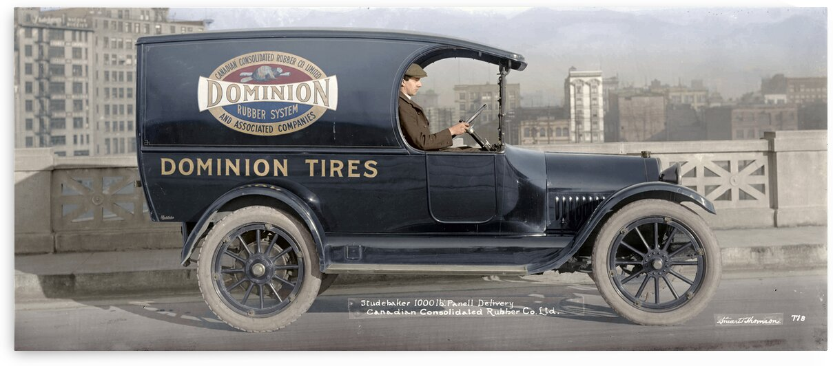 Dominion Tires Studebaker by Canadian Colour