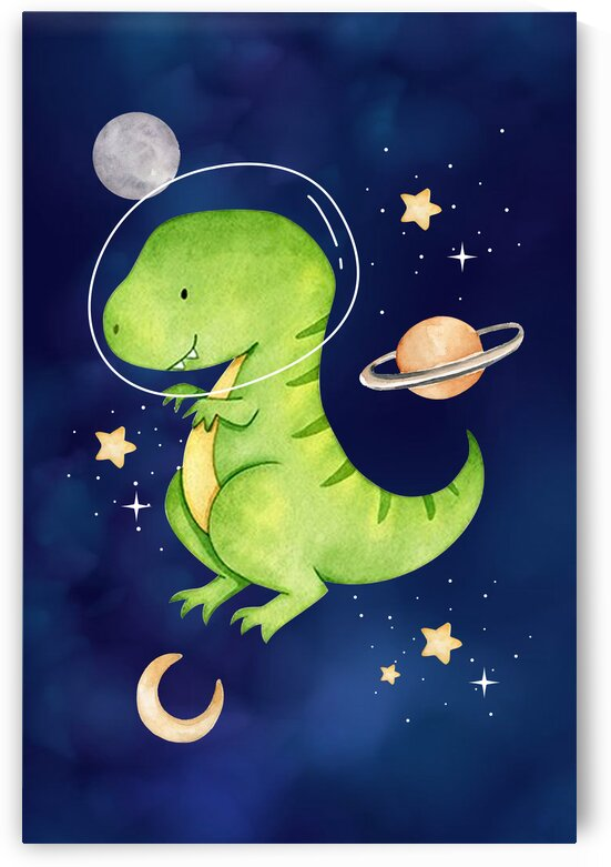 Space dinosaurs kid baby playroom nursery daughter and son by Samantha