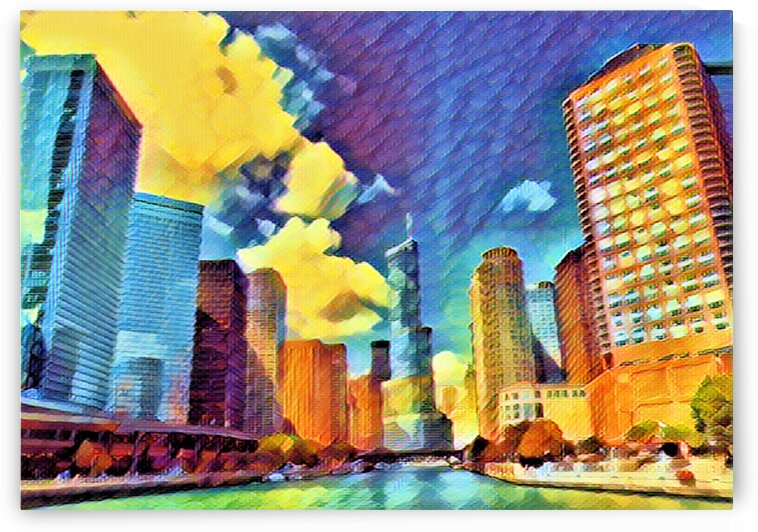 Chicago II by Flodor