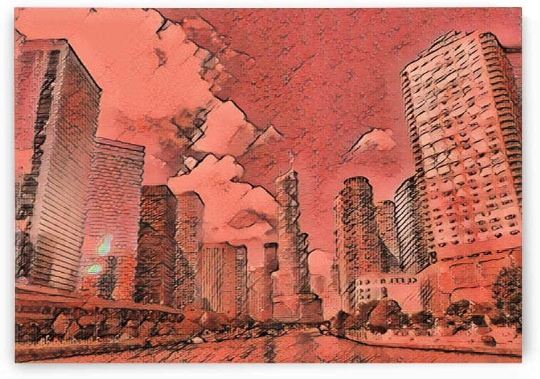 Red Chicago by Flodor