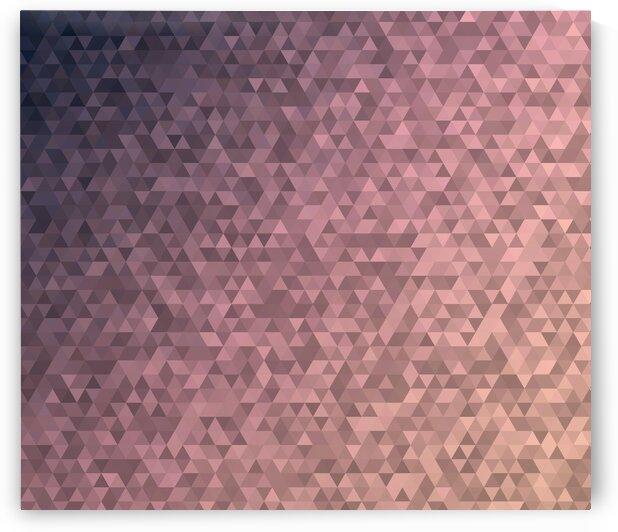 Pink Modern Geometric Pattern by rizu_designs