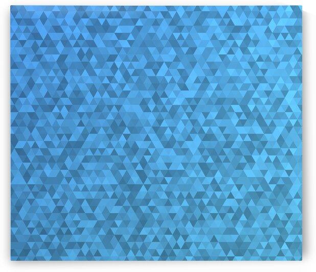 Blue Glitter Modern Pattern by rizu_designs