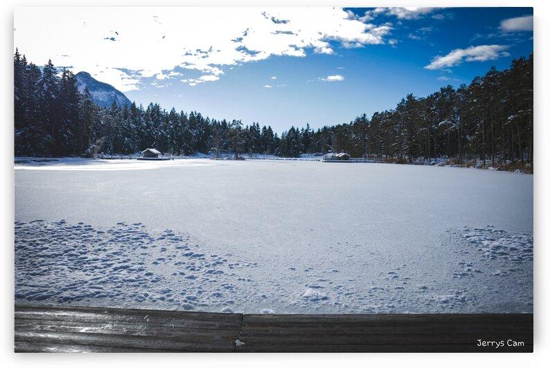 Frozen Lake of Fie View by Jerrys Studio