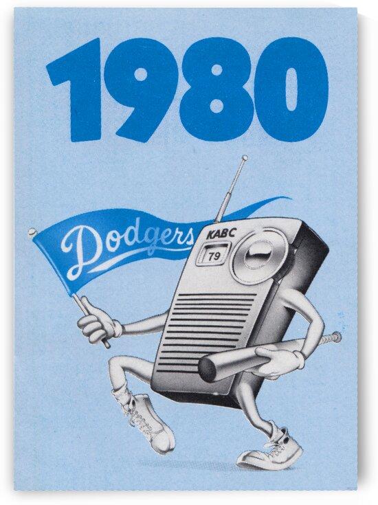 1980 LA Dodgers KABC 79 Radio Ad by Row One Brand