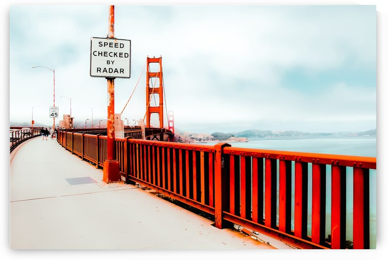 view from the Golden Gate Bridge San Francisco USA by TimmyLA