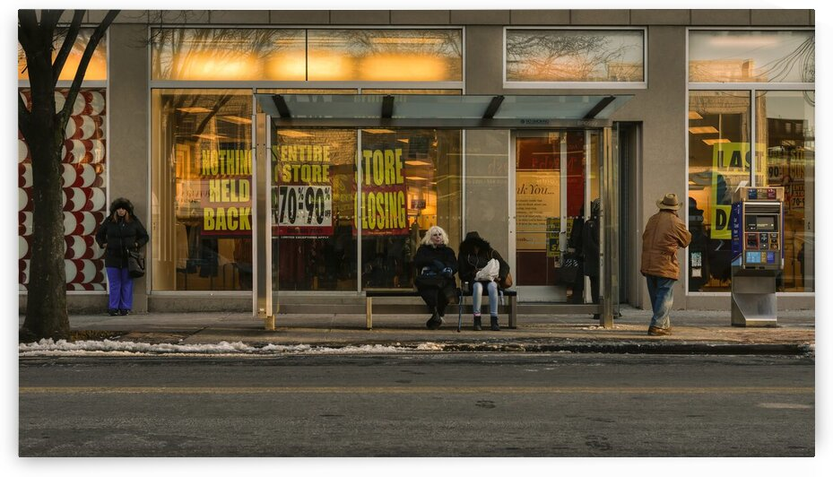 On The Streets Of New York In Winter 2019-12-GNY-100 by Vlad Meytin